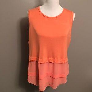 Michael Kors Women Sleeveless Blouse Tunic  Top XL